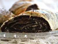 Austrian-Hungarian Poppy Seed Strudel, Rétes