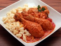 Hungarian Chicken Paprikash