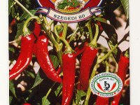 Sweet Hungarian Pepper Seeds - Szegedi-80