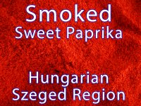 Smoked Sweet Paprika from Szeged Region 4 oz