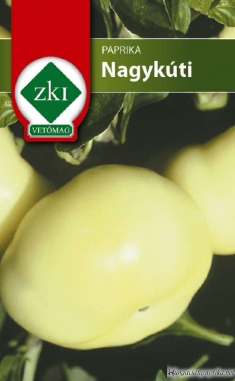 Hot Hungarian Pepper Seeds, Nagykuti Almapaprika