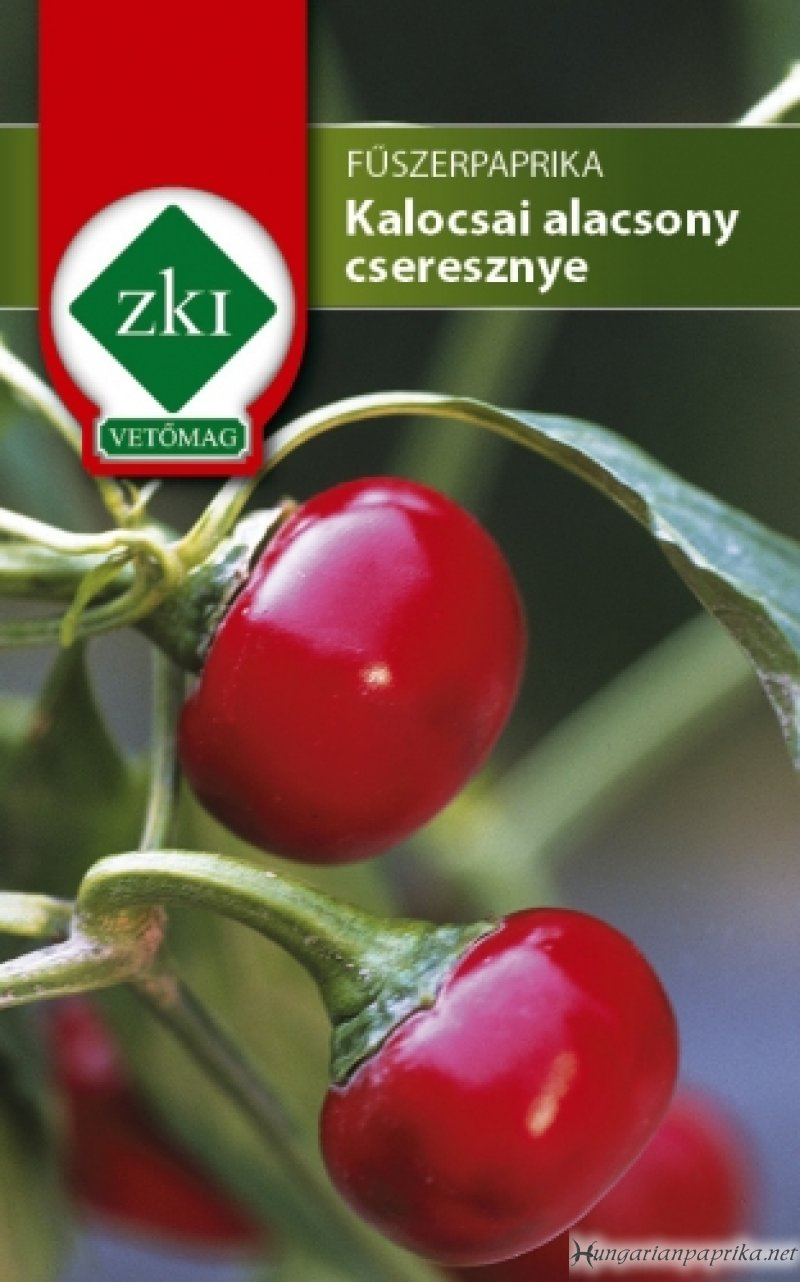 Hot Hungarian Paprika Seeds - Kalocsai Cherry Pepper