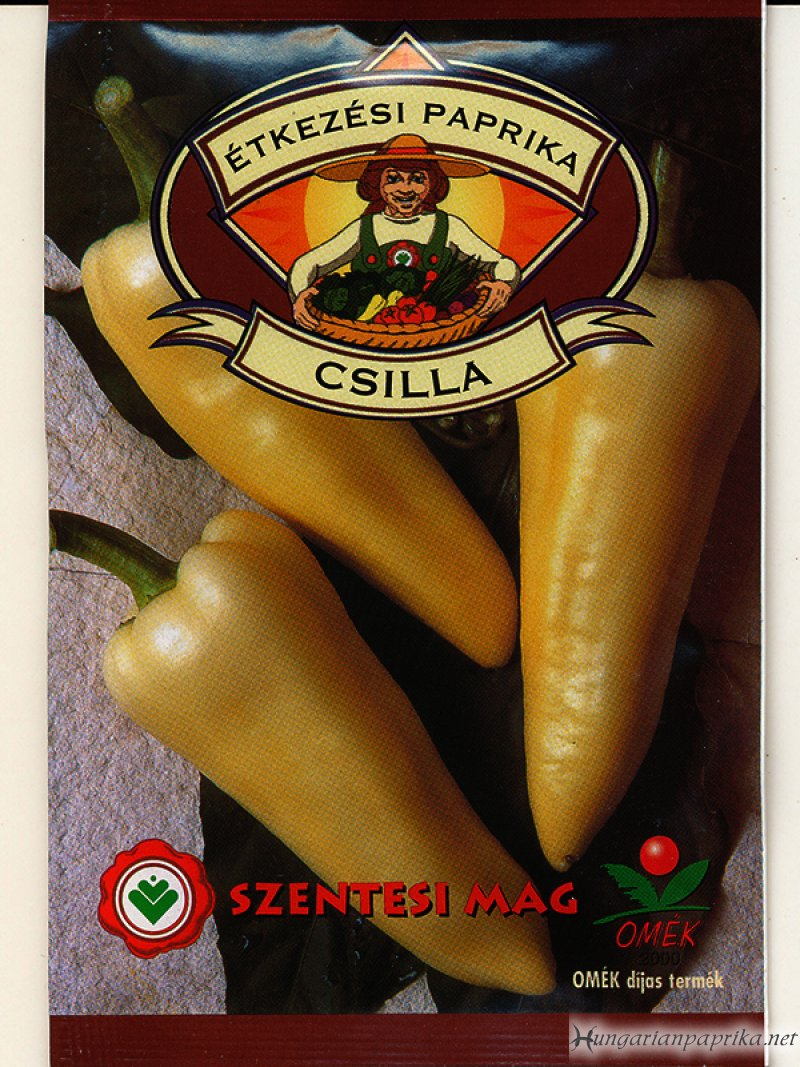 Semi Hot Hungarian Paprika Seeds - Csilla