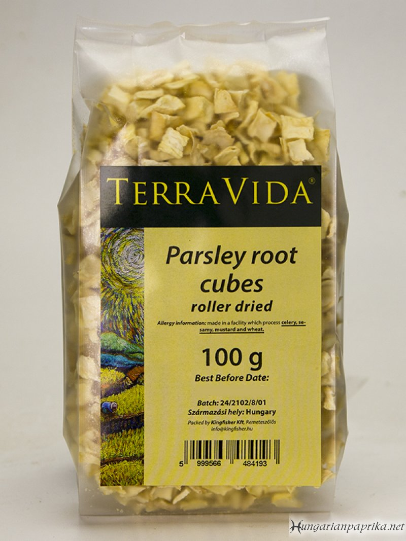 Parsley Root Cubes
